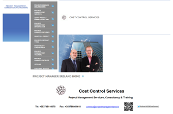 Website preview image for: Cost Control Services