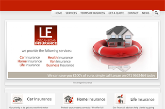 Website preview image for: Insurance Broker Boyle