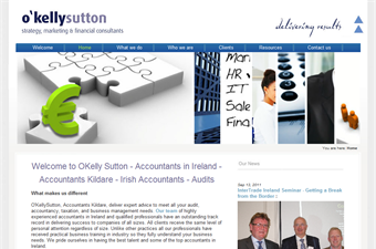 Website preview image for: OKelly Sutton - Irish Accountants & Financial Consultants