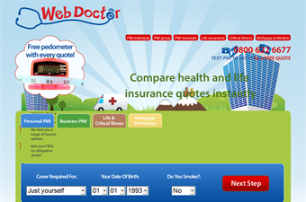 Website preview image for: Comparing Health Insurance for Individuals